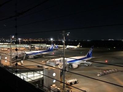 羽田空港 夜景