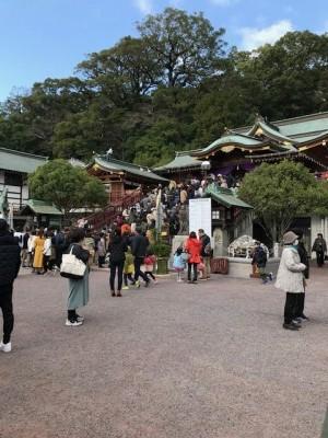 諏訪神社 初詣